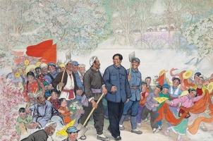 十年后刘文西范曾吴修王子武崔如琢,谁的画升值空间更高? ...