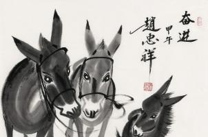 赵忠祥老师的画和书法有收藏价值吗