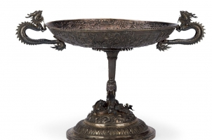 银雕艺术手工艺品收藏价值高吗