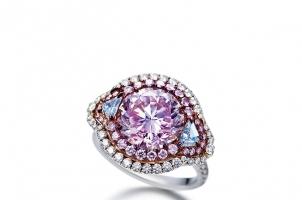 蓝色钻石:十分罕见、十分珍贵