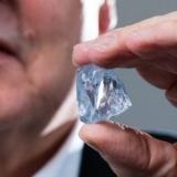 南非发现122克拉罕见蓝钻石