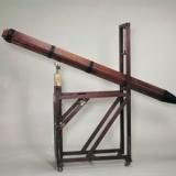 十八世纪木制六棱形天文望远镜