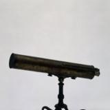 英国铜镀金反射望远镜