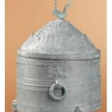 汉代锥画青铜樽