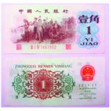 第三套人民币背绿壹角券真假鉴定方法