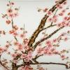 清代乾隆粉彩过墙四季花卉纹大碗