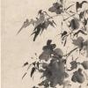 明 · 徐渭《竹石牡丹图》轴