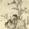 王渊《竹石集禽图》