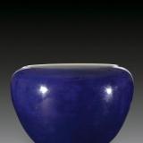 """什么是祭蓝釉?如何将瓷器烧出""""茄皮紫""""?"""