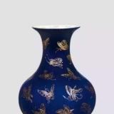 色彩绚丽的陶瓷美丽嫁衣之蓝釉