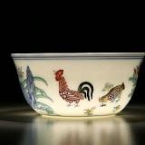 瓷之美--  鸡缸杯