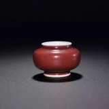 霁红釉、宝石红釉、积红釉、醉红釉都是它,这红真漂亮 ...
