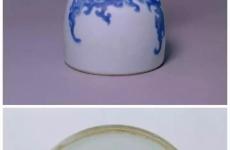 清雍正青花瓷器的款识及底部特征