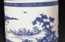 为何康熙青花笔筒这么受收藏大咖追捧?