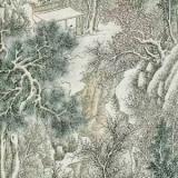 古代传世青绿山水与雪景绘画