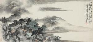 吴湖帆山水画多少钱一平尺?