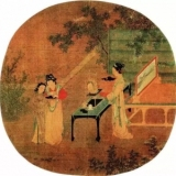 宋代山水人物花鸟画精品欣赏