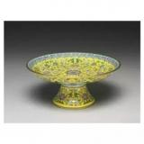 收藏在台北故宫的珐琅彩瓷器