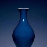 霁蓝釉瓷器特性及图文赏析