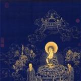 清丁观鹏《无量寿佛图》佛教绘画的经典