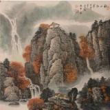 杜中良工笔山水画85幅