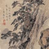 清代黎简山水画