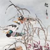 张继馨及花鸟画作品欣赏