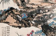 潘天寿绘画作品精品赏析