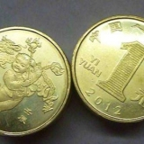 2012壬辰年龙年1元纪念币