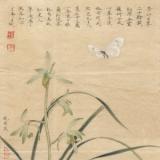 李晓明花鸟画作品