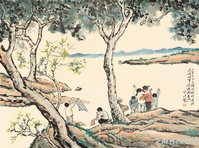 王登科作品欣赏及艺术价值