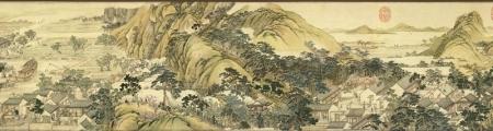 清代画家徐扬山水画欣赏