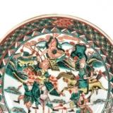 刀马人物图瓷器的工艺特征与收藏价值