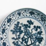 岁寒三友纹瓷器的工艺特征与收藏价值