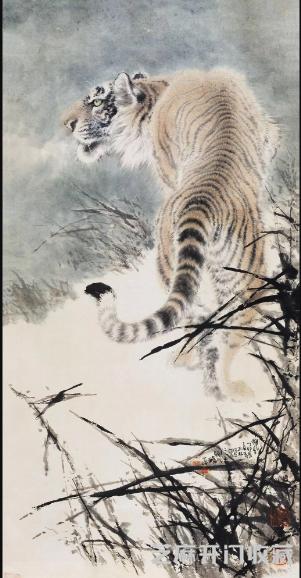 谁擅长画虎 都有哪些画家