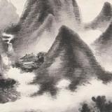 水墨山水画在临摹的时候要注意什么