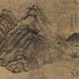 明代叶广的纪事画  《渔乐图》