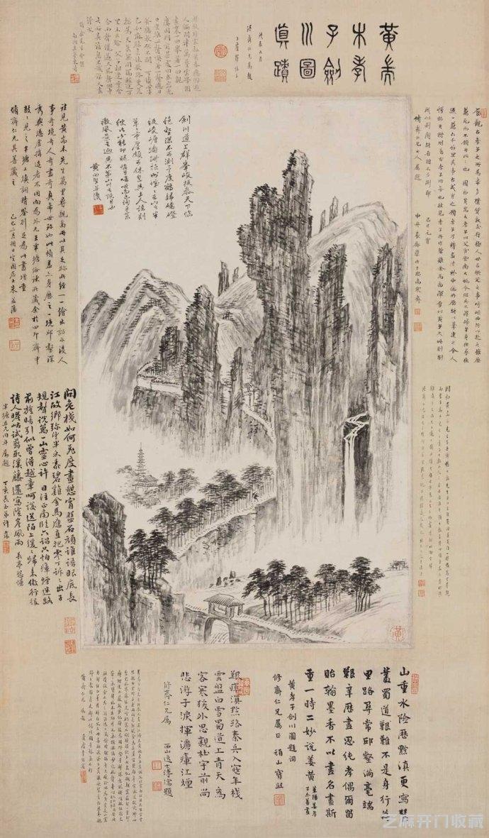 [中国收藏网]黄向坚 当之无愧的孝子和画家