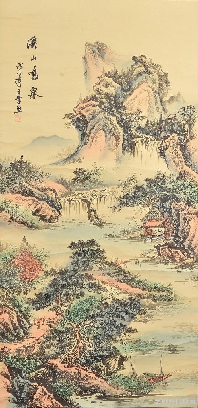 「金陵十二钗图片」王翚山水画的艺术价值和经济价值