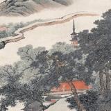 张崟山水画作品赏析