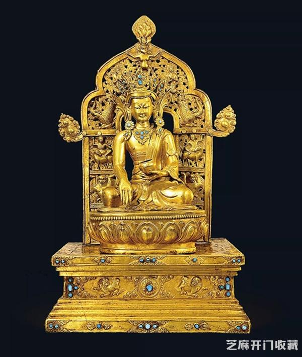 「和田青玉价格」清代铜佛像鉴别有四法 这一点常常被忽略
