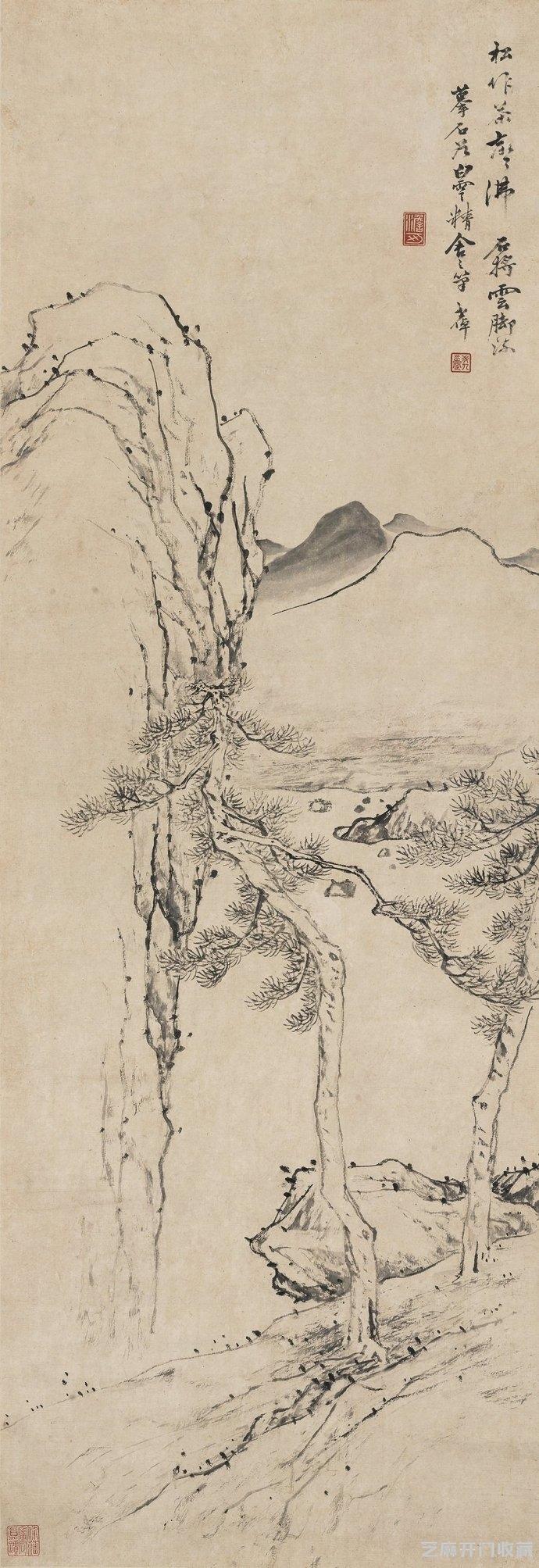 「汾酒图片」画家李世倬山水作品赏析