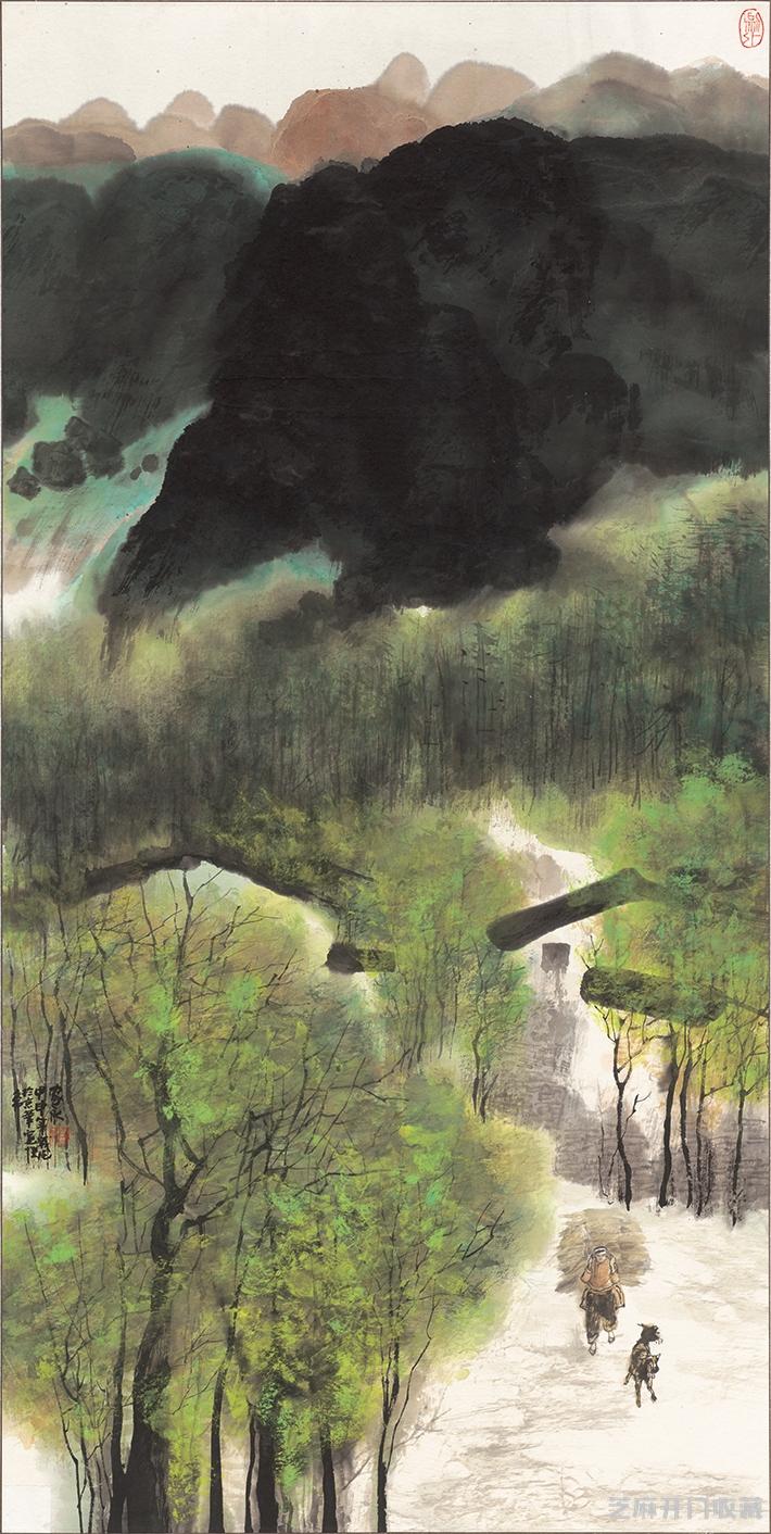 [古玩古董交易]杨家永画作欣赏及其艺术价值