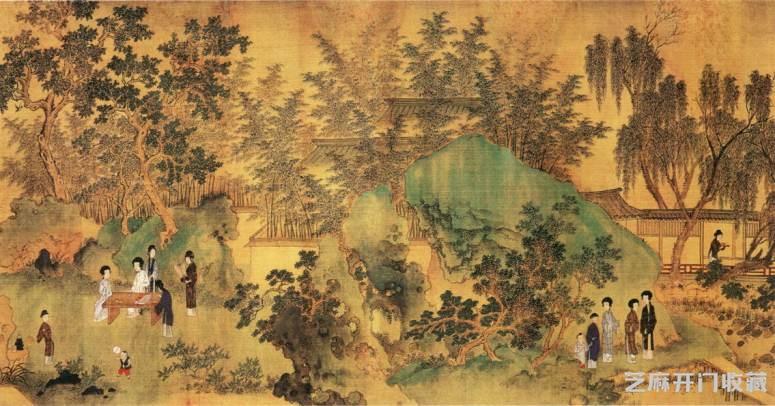 「和田羊脂玉价格」清代画家杨晋绘画作品欣赏