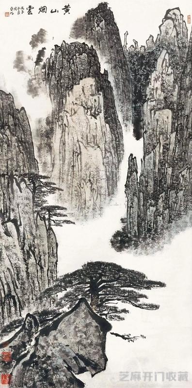 [拍卖行]画家亚明为什么被称为新金陵画派的中坚力量