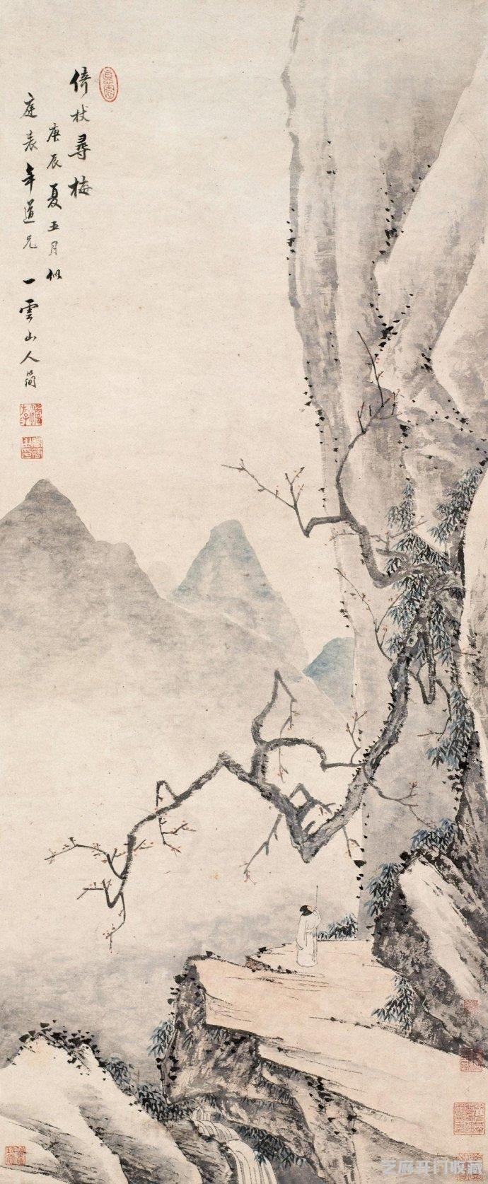 「鹦鹉螺图片」清代画家高简作品欣赏