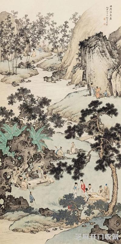 [太湖石图片]陈少梅 津门画坛领袖 却因病早逝令人扼腕
