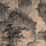清代画家蓝涛山水画欣赏