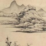 弘仁山水画欣赏高清大图