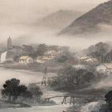 吴石仙山水画欣赏